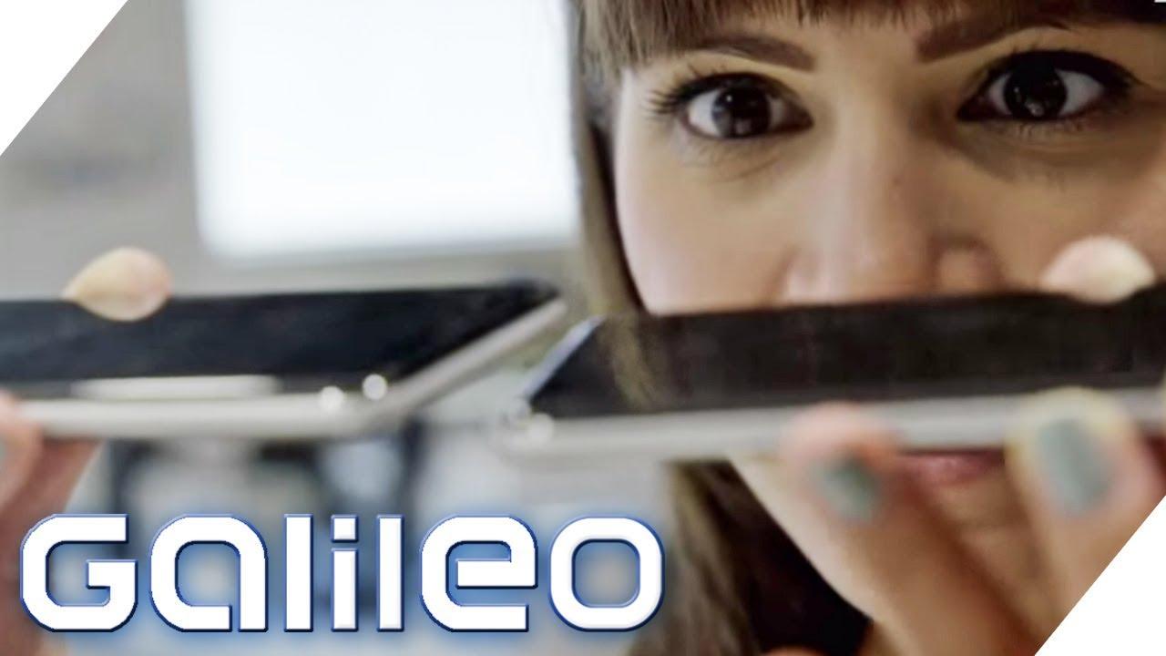 Selbstexperiment: Arbeiter in einer Smartphonefabrik   Galileo   ProSieben