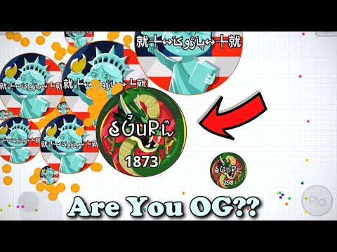 *JUST SOLO*// INSANE  REVENGE IN MOBILE AGAR.IO thumbnail
