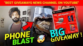 Oppo Phone Blast - Technical Dost || Big International Giveaway News || Realme X7