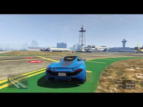 GTA V - Airport Speedway