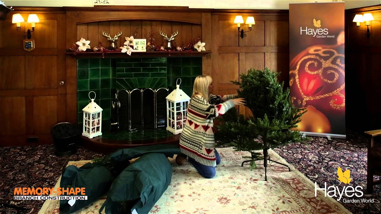 How to assemble and dress out a Smokey Mountain Christmas tree ...