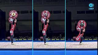 Saziye Erdogan's Snatchs   2019 IWF World Champion...