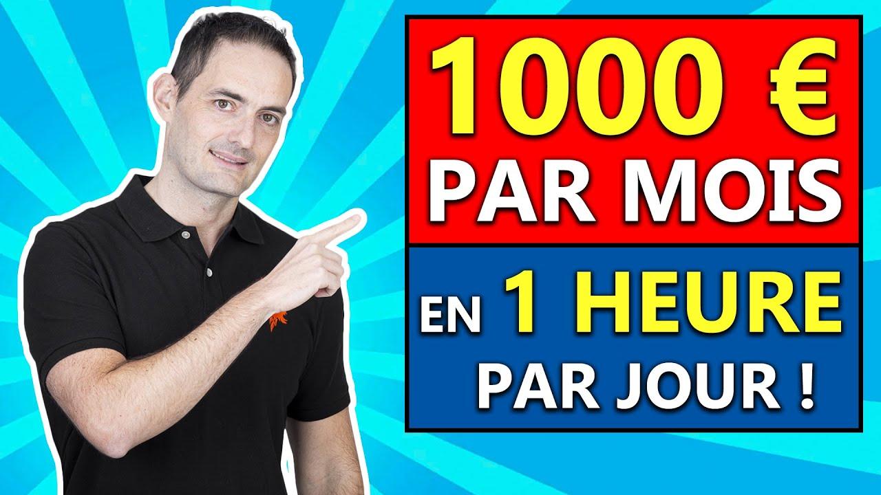 Comment gagner 1000 euros de salaire net en 1H par jour ?
