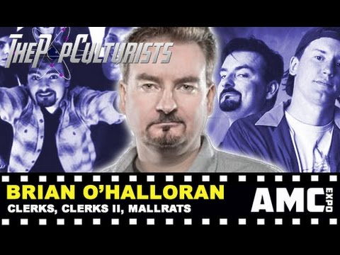 AMC Expo 2016  Brian O'Halloran Talks Clerks III and Vulgar 2  thepopculturists.com
