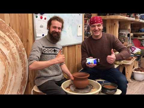 🍯 Тепловизионная картина Горшка Тепловизор Андрей Стройхак Волшебство керамики