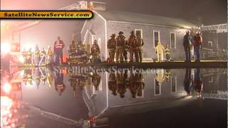 Calvary Baptist Church Heavily Damaged in Three Alarm Blaze- Hyannis, MA (03-14-12)