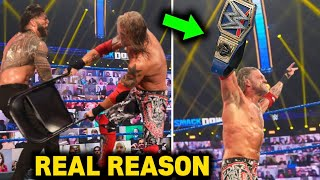 Edge Attacks Roman Reigns Real Reasons Why Edge Chooses Roman Reigns For WrestleMania 37 Leaked
