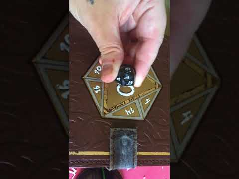 Waxing your D&D table top dice instead of inking