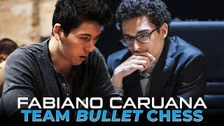 Fabiano Caruana: TEAM BULLET CHESS