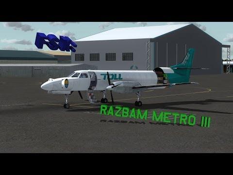 FSX RAZBAM Metro Review