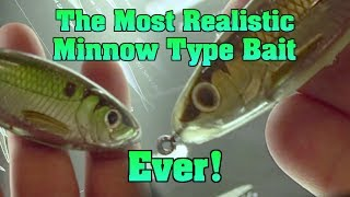 Live bait vs Artificial ?  Does it matter anymore?  Live Target's new Twitch Minnow and Skip Shad