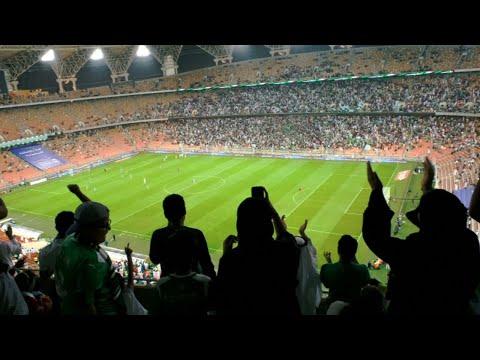 Saudi Arabia breakthrough as women watch first football match