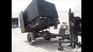 1986 1.5 ton dump utility trailer for sale | sold at auction August 29, 2013