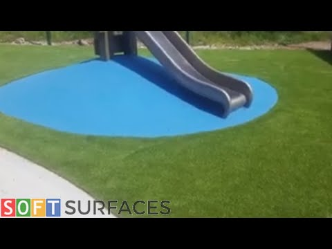 Rubber Playground and Artificial Grass Surfacing in Middlesbrough, Yorkshire   Wetpour Play Area