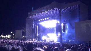 Zac Brown Band covering Metallica 'Enter Sandman' at Isleta Amphitheater Albuquerque 2015