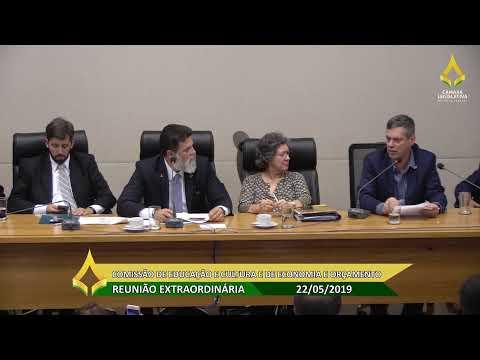 Reunião conjunta: Comissão de Educação e Cultura e de Economia e Orçamento - 22/05/2019