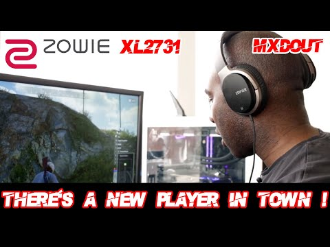 BENQ ZOWIE'S NEWEST PLAYER THE XL2731 ESPORTS MONITOR REVIEW!