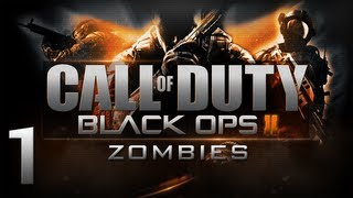 Call of Duty Black Ops 2 - Zombies #1 - Vertez, Pabel, Mardeey