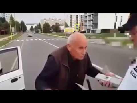 Keď policajt zastaví východniara :D 0,0,00 promile !!