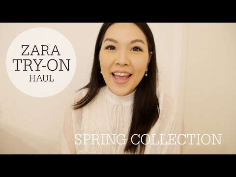 Zara Try-On Haul♥ Spring Collection | ANGELBIRDBB