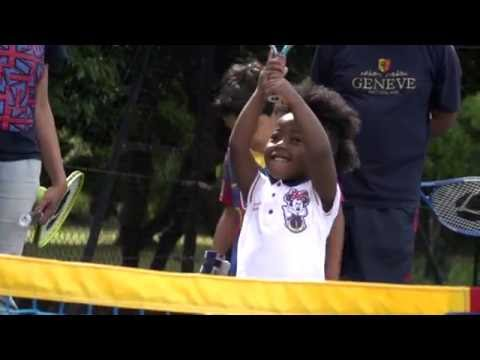 Clarkson family Great British Tennis Weekend video diary