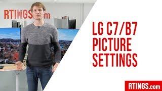 LG C7/B7 OLED Picture Settings - RTINGS.com