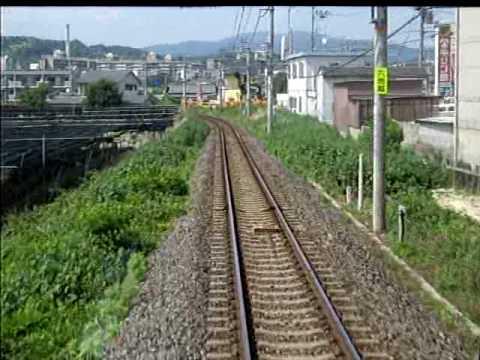JR Nara Line coming into Kyoto