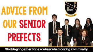 Advice from the Senior Prefects 2020