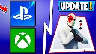 *NEW* Fortnite Update! | Custom Wild Card Skin, New Vehicle, Cross Play!