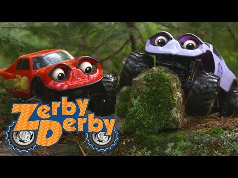 Zerby Derby  Best Episode Compilation  Zerby Derby Full Episodes Season 1  Kids Cars