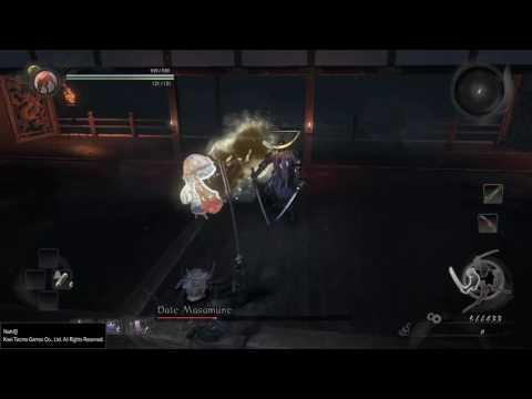 Nioh - Dragon of the North: Date Masamune, Level 1 Way of the Strong (NG+) Kill