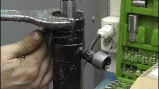 Ну как бы ремонт гидравлической стяжки.
