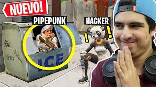 HACKER RAT CHILD MAKES TRAP IN FORTNITE AND WE UNCLATE IT 😂😂