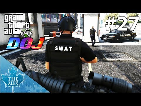 GTA V Department of Justice #27 - Tactical Mistakes were made - Law Enforcement