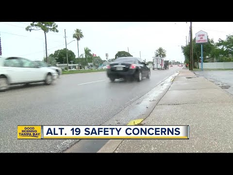 FDOT wants public input on changes to Alt. US 19 to make the road safer for pedestrians and drivers