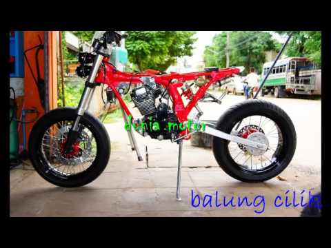 video modifikasi motor honda gl100 jap style