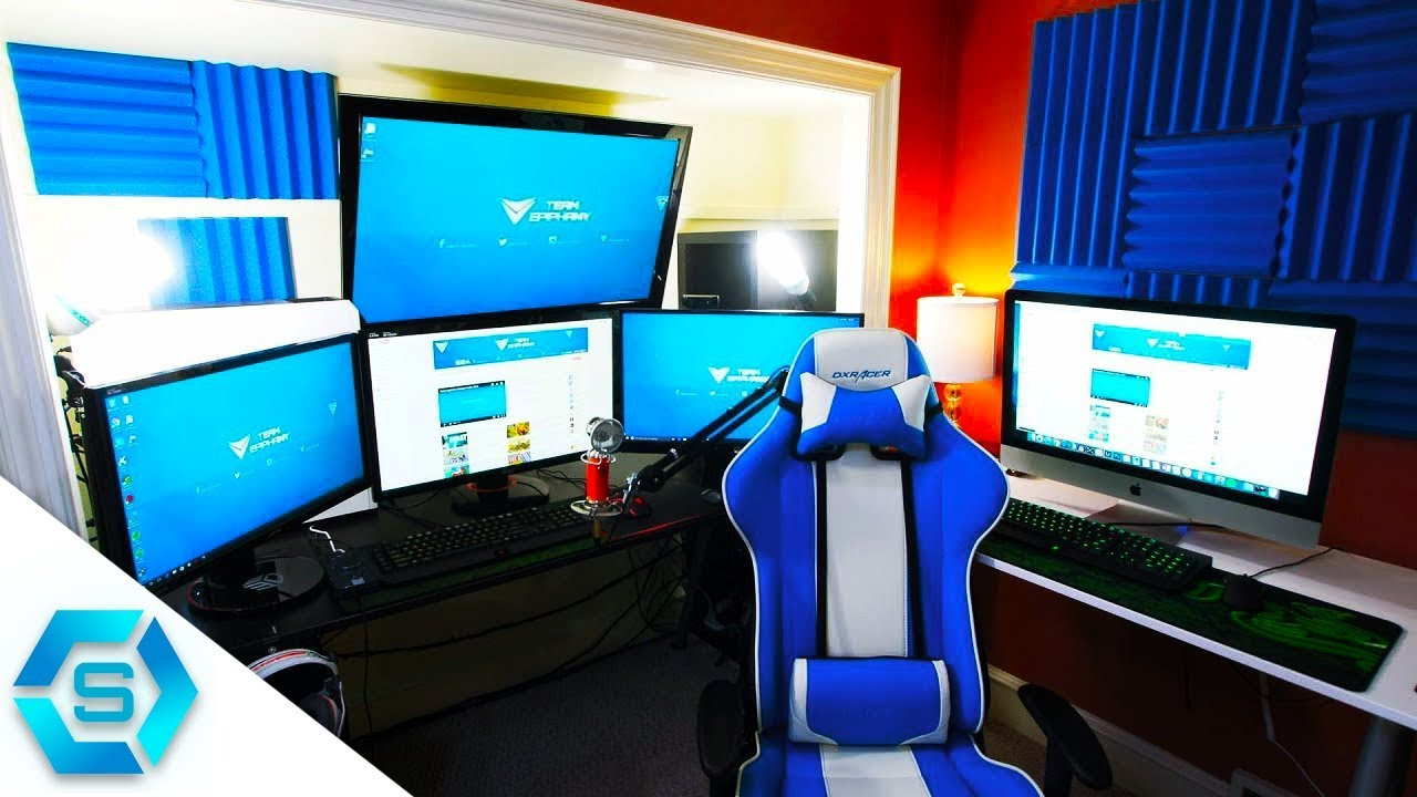 200 Ultimatives Gaming Setup Deutsch 2018 Youtube