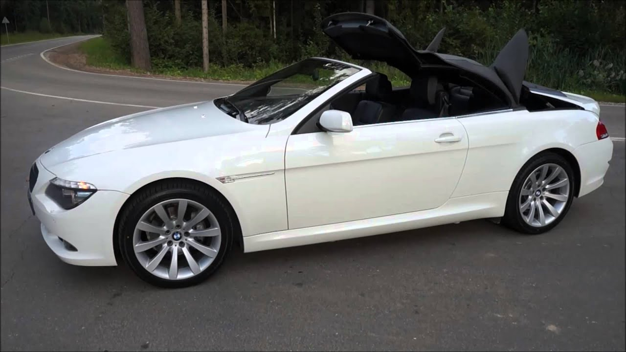 bmw 630i cabrio youtube. Black Bedroom Furniture Sets. Home Design Ideas