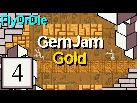 FlyOrDie's GemJam Gold - 4: Crowded house