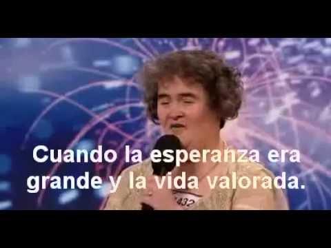 Susan Boyle - I Dreamed A Dream (Soné Un Sueño) - Subtitulado en  Español
