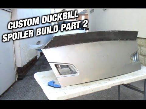 G35 Duckbill Spoiler Build - Part 2 of 4 - Cutting and Welding
