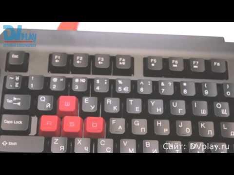 A4Tech Bloody Q100 - обзор игровой клавиатуры