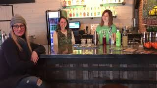 "Holladay Distillery ""Crazy Leprechaun"" cocktail"