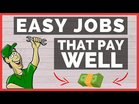 Easy Jobs That Pay Well - Earn Money Doing Simple Tasks (Good Paying Jobs)