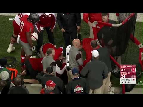 Crazy Knockout Hits In Football | NCAA/NFL