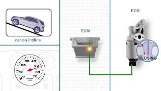 P045D P0407 EGR PROBLEM RANGE ROVER SPORT V6 EGR REPLACEMENT