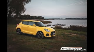 Suzuki Swift Sport 2018 test PL Pertyn Ględzi