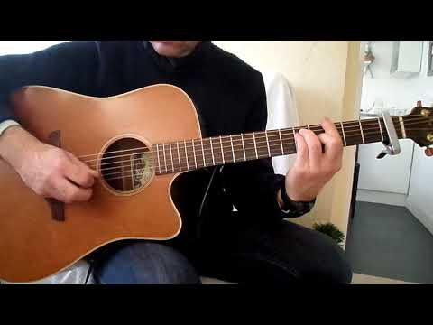 Johnny Hallyday - Sang pour sang comment jouer tuto guitare YouTube En Français