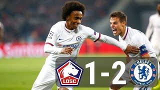 Diễn biến chính trận đấu Lille vs Chelsea (02/10/2019)
