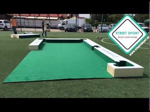 Montaggio Campo Street Billiard Snookball